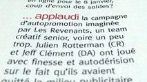 """Les Revenants - team créatif Julien Rotterman, Jeff Clément, """"Team créatif très senior, voire un peu trop"""" - novembre 2013 - rédac' a"""