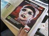 """NRJ - radio - mai 2011 - """"Lady Gaga dans le journal Metro en réalité augmentée"""""""