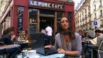 """Microsoft - système d'exploitation Windows 7 - octobre 2009 - """"Moi, je suis PC et Windows 7, c'était mon idée."""", Charline"""