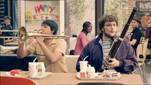 """McDonald's - restauration rapide, """"Venez comme vous êtes, Concerts"""" - mars 2012 - Fanfare"""
