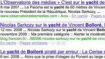"""Parti Socialiste (PS) - parti politique - février 2010 - """"Parodie de la publicité Google"""", """"Il est temps de changer"""""""
