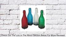 TF Frosted Glass Hanging Wine Bottle Candle Holder Review