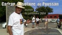 """Journées du patrimoine à Poussan : présentation du cadran solaire par Roger Tognetti     4' 20"""""""