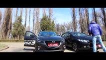 LÁI THỬ XE MAZDA 3 2015 MAZDA VŨNG TÀU 0938 806 791 Mr Bảo- Mazda 3 VS Honda Civic. 2014