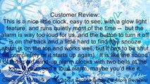Seiko QHK023SLH Bedside Alarm Clock Review