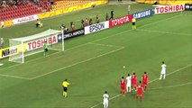 12-year-old ball-boy helps China goal keeper save a penalty