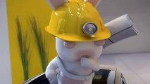 Renault - voiture Grand Scénic - avril 2009 - Les tests crétins des Lapins Crétins: film d'introduction