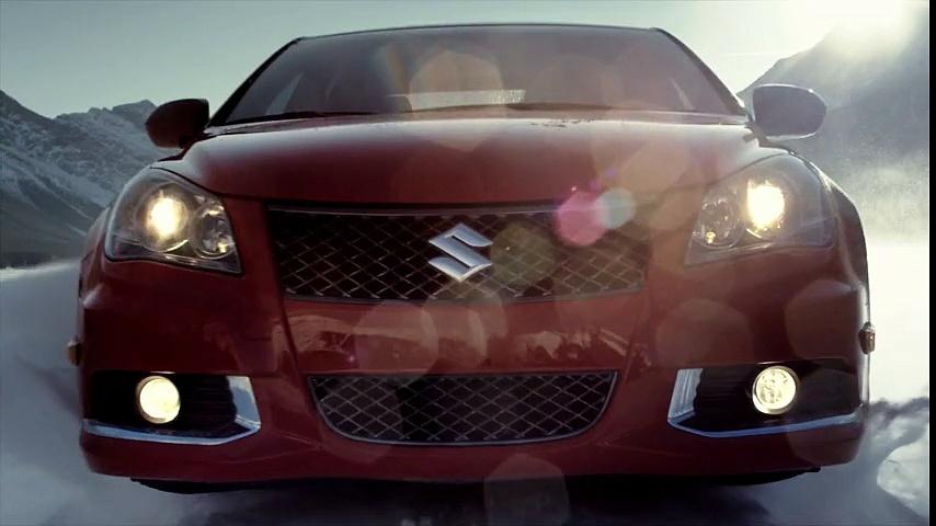 """Suzuki – voiture Suzuki Kizashi, """"Sled"""" – février 2012"""