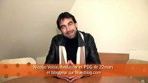 Social Media Club - démocratie et mdias sociaux - avril 2009 - Nicolas Voisin, fondateur de 22mars et nuesblog.com