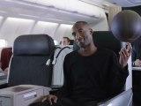 """Turkish Airlines - compagnie aérienne, """"Legends on board, avec Leo Messi et Kobe Bryant"""" - décembre 2012"""