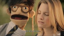 """Wrigley's - chewing-gum Freedent - juin 2010 - """"Les Puppets, les Marionnettes"""", """"N'ayez plus peur d'ouvrir la bouche."""", """"La balançoire"""""""