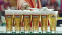 Wieden & Kennedy Amsterdam pour Heineken - bière, «Orange fever» - mai 2014