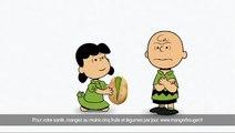 """Wonderful Pistachios (Paramount Farms) - pistaches, """"Craquez"""" - mai 2011 - Charlie Brown et Lucy de Snoopy"""