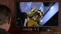 """Star Trek The Video Game - jeu vidéo, """"Captain Kirk (William Shatner) et Le Gorn"""" - avril 2013"""