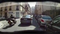 """Sécurité Routière - lutte contre les accidents de la route - juin 2010 - """"Deux-roues motorisés"""", doublement par la droite"""