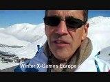 Winter X Games Europe, à Tignes - interview de Jean-Louis Dutaret, président de Canal + Events