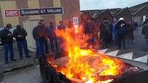 Feignies: grève chez Sambre et meuse