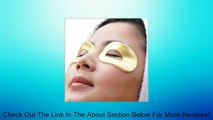 10 Masks in 5 Pairs of 24k Gold Eye Collagen Hyaluronic Acid, Vitamin B5, Vitamin E, Reduce Wrinkles and Dark Circles Around the Eye Area Review