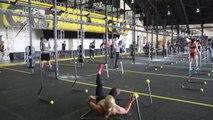 Chutes lors d'une épreuve de CrossFit