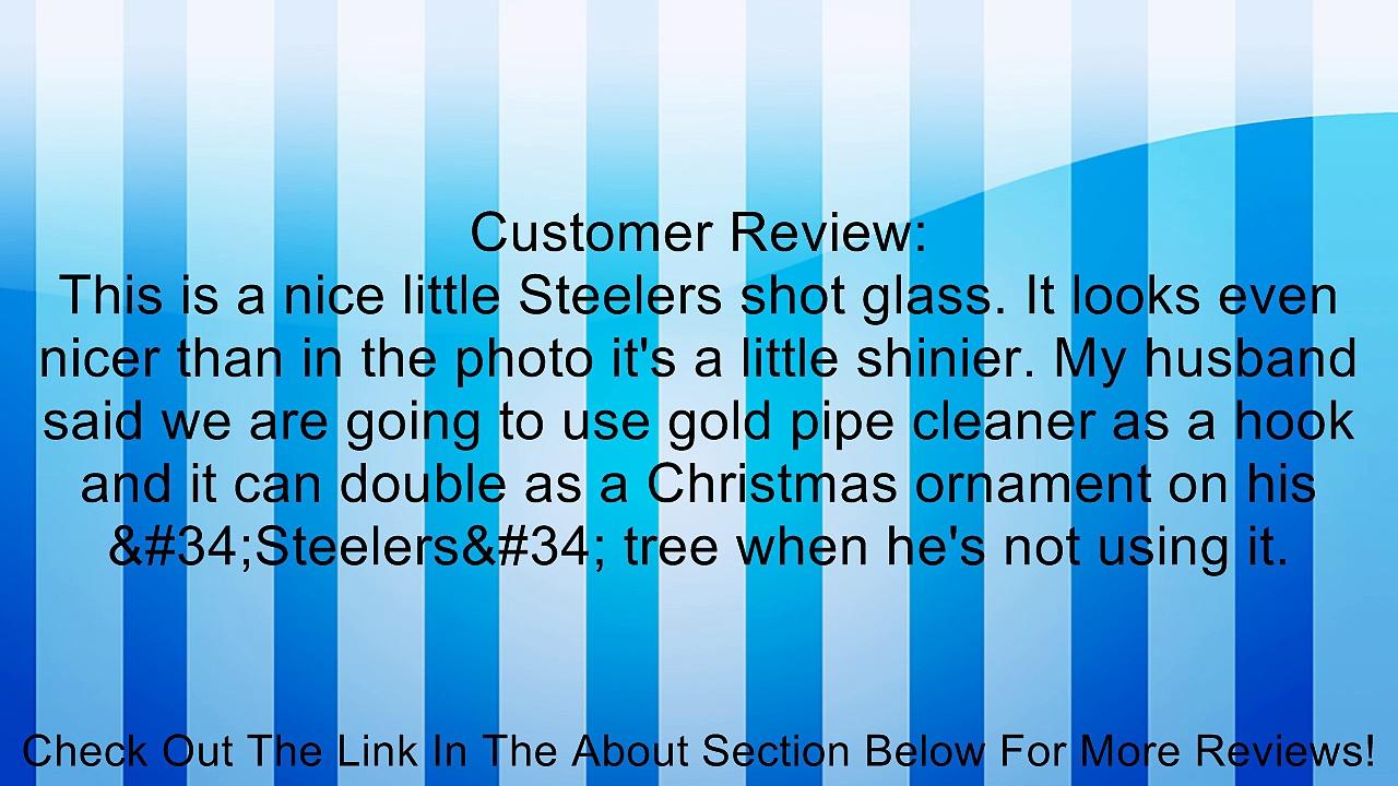 NFL Sculpted Mini Mug Shot Glass Review