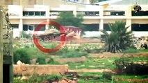 تدمير دبابة تابعة لمليشيات حفتر في محور المساكن ببنغازي