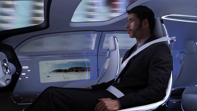 Le prototype F 015 Luxury in Motion illustre la vison Mercedes de la conduite autonome