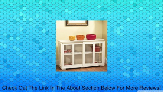 Tms Pacific Stackable Storage With Glass Door Antique