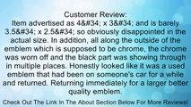 Nebraska Cornhuskers Premier Chrome Finish Auto Emblem Review