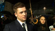 Taron Egerton on being single and new found fame