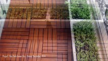 Ván Sàn Gỗ Tự Nhiên - Trang Trí Sân Vườn - Trang Trí Ngoại Thất - Chung cư Hòa Bình Green City - Hà Nội