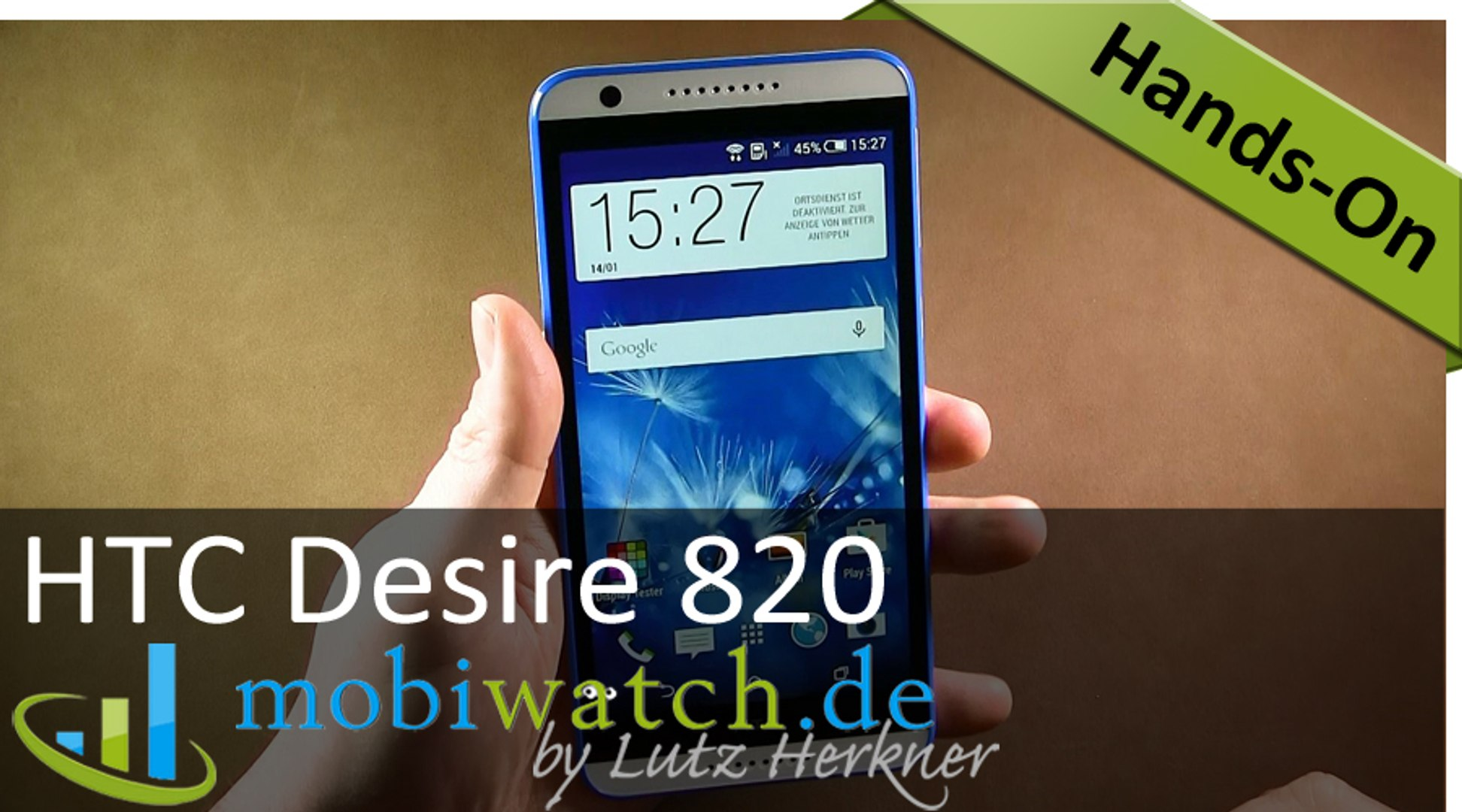 HTC Desire 820: Der Octa-Core-Riese im Video-Test