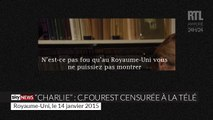 """Caroline Fourest censurée à la télé pour montrer la une de """"Charlie Hebdo"""""""