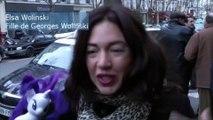 Le bel hommage d'Elsa Wolinski à son père tué à Charlie Hebdo