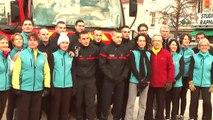 Téléthon 2014 - Maisons Alfort - Pompiers