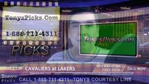 LA Lakers vs. Cleveland Cavaliers Free Pick Prediction NBA Pro Basketball Odds Preview 1-15-2015