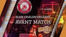 Avant-Match - J17 - Orléans se déplace à Chalon-sur-Saône