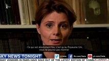 Charlie Hebdo : Caroline Fourest censurée par Sky News ?