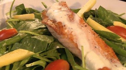 Salmon Salad and Prickly Pair Saison