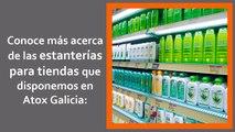 Atox Galicia - Estanterías ángulo ranurado - Estanterías para tiendas