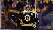 Bruins Star Zdeno Chara Drops Much Smaller Player with Single Punch
