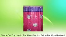 Hello Kitty Shower Curtain & Shower Hooks Peva Shower Curtain 70x72in Pink Review