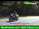 Chutes moto crash tres con le mec