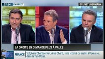 Brunet & Neumann : Lutte contre le terrorisme: La droite a-t-elle raison d'en demander plus à Valls? - 16/01