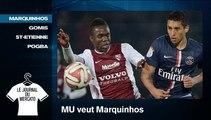 Mercato: MU mise 40 millions € sur Marquinhos