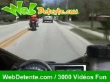 Moto accident chutes
