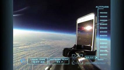 iPhone 6'yı Uzaydan Aşağı Bıraktılar!