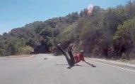 Le longboard peut être un sport (très) dangereux