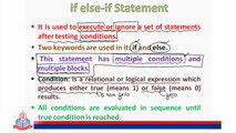 if else-if Statement