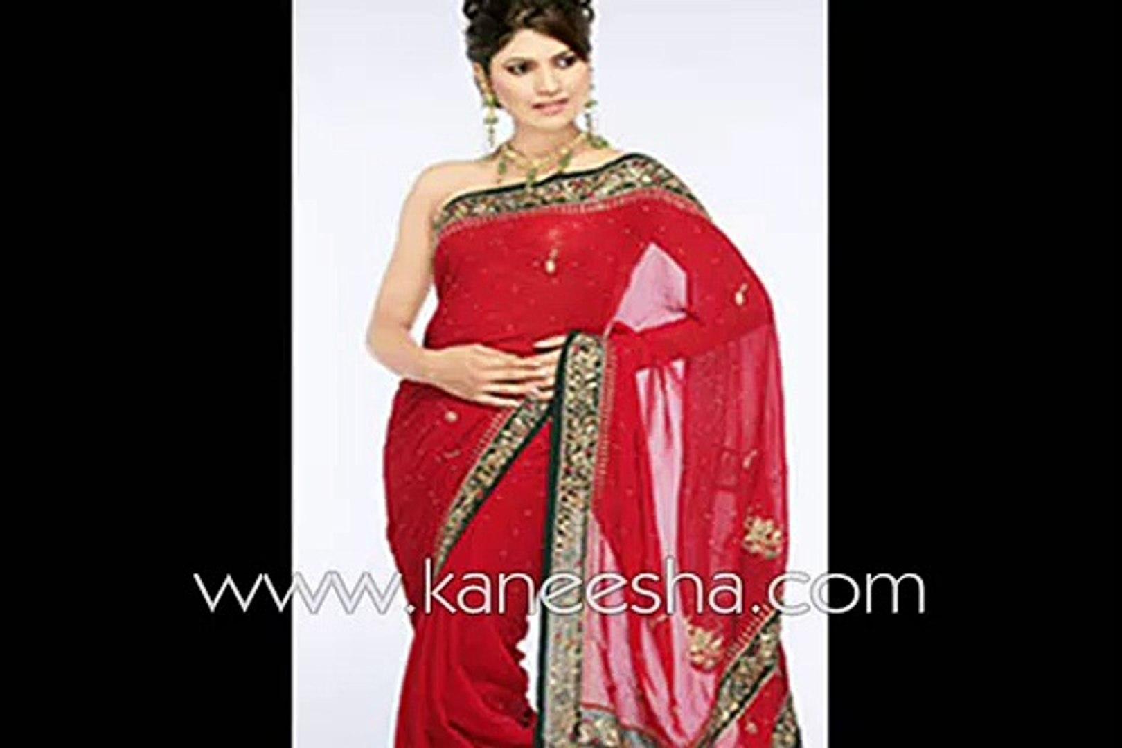 Fashion Wedding Saree, Indian Pakistani Fashion Saree