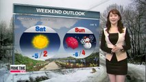 Snow or showers expected for some regions through Saturday